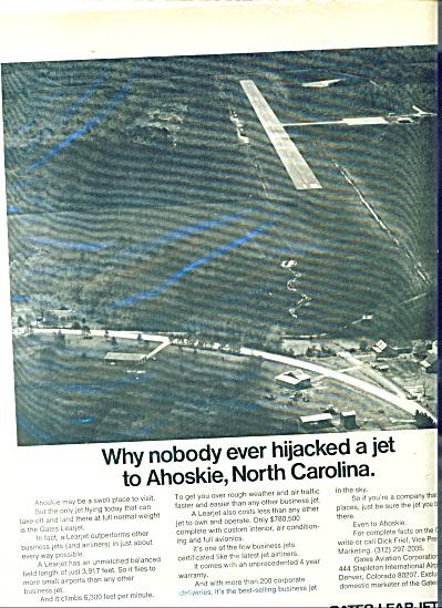 Gates Learjet ad - 1969 (Image1)