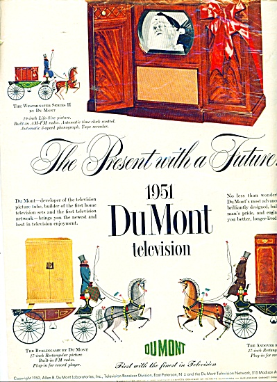 1951 DuMont television ad (Image1)