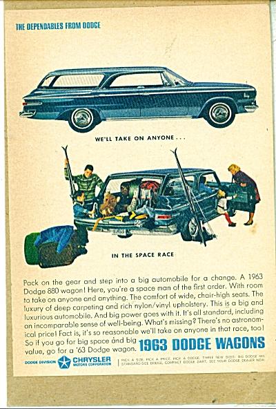 1963 Dodge Wagons ad (Image1)