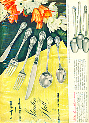 Stanton Hall Sterling Ad - 1951