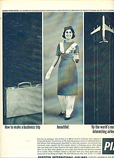 Pakistan International Airlies ad - 1962 (Image1)