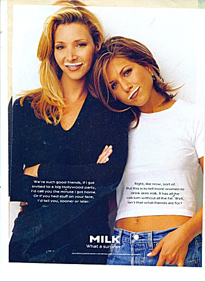 Milk Moustach Ad - JENNIFER ANNISTON - KUDROW (Image1)