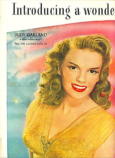 Max Factor lipstick - JUDY GARLAND - ad (Image1)