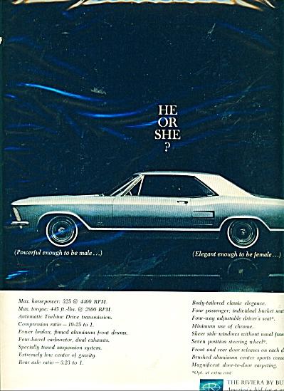 Buick Riviera automobile - 1963 ad (Image1)