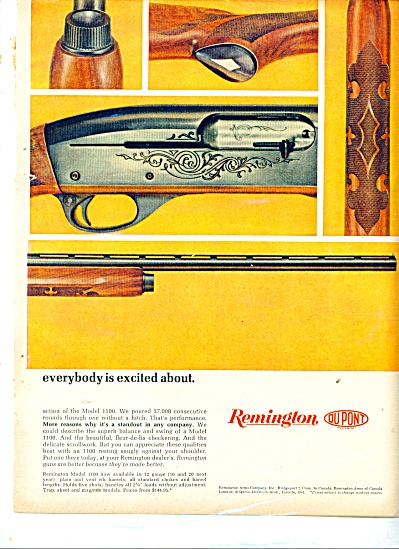 Remington Dupont automatic shotguns ad (Image1)