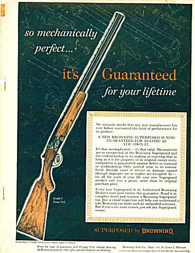 Browning superposed gun  ad (Image1)