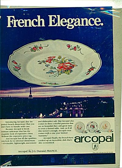 French Elegance Arcopal ad (Image1)