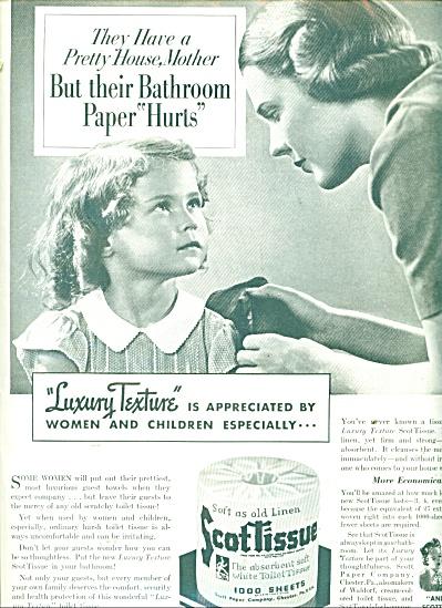 Scot Tissue ad - 1937 (Image1)