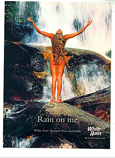 2000 White Rain Shampoo AD NUDE WOMAN (Image1)