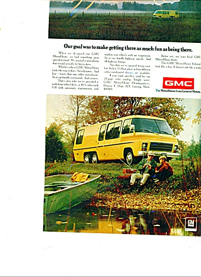 GMC  motor homes ad (Image1)