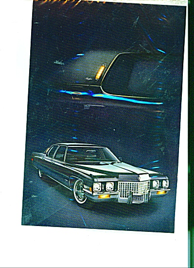 Cadillac Fleetwood Sixty Special Brougham Ad