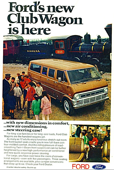 Ford Club Wagon  = dated   1976 (Image1)