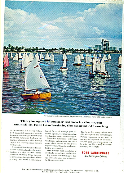 Fort Lauderdale, Florida, ad - 1976 (Image1)