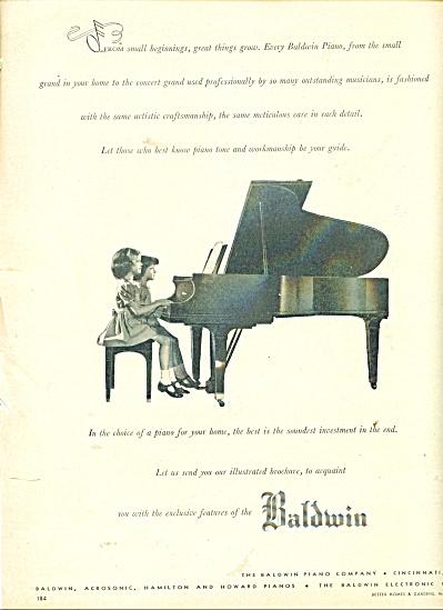 Baldwin pianos ad - 1948 (Image1)