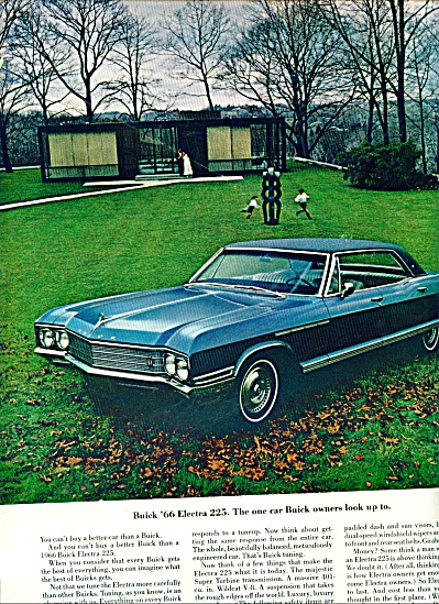 1966 Buick Electra 225 Automobile Ad