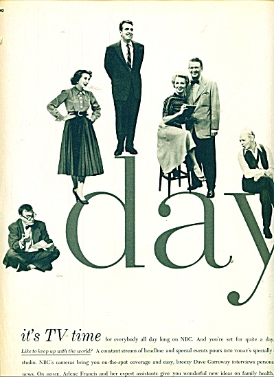 NBC day time television ads 1955 (Image1)