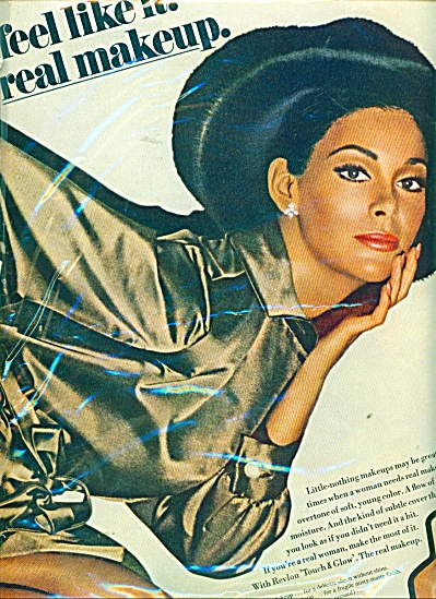 Revlon Touch & Glow makeup ad (Image1)