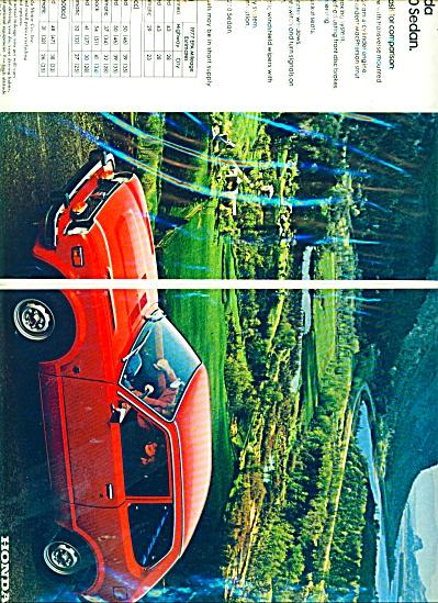 Honda Automobile ad - 1977 (Image1)