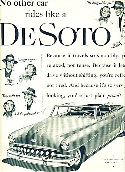 DeSoto automobile ad - 1951 (Image1)