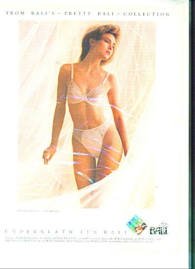 1988 Bali Collection BRA - PANTY AD (Image1)