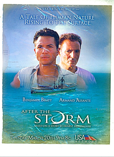 Movie:  After the Storm - BENJAMIN BRATT  ad (Image1)