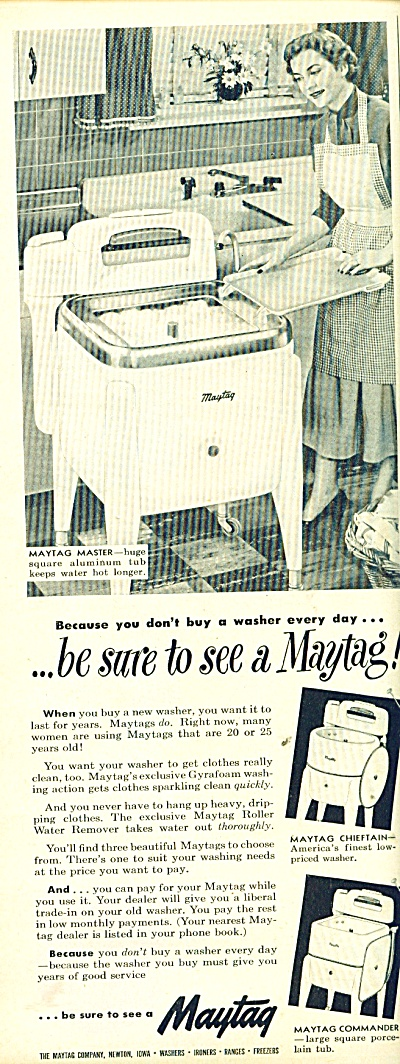 Maytag washer ad (Image1)