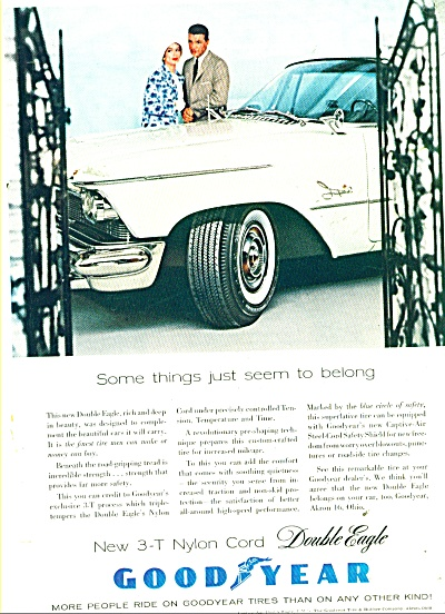 Goodyear tire ad - 1958 (Image1)