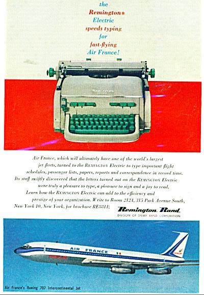 Remington Rand electric typewriter ad - 1959 (Image1)