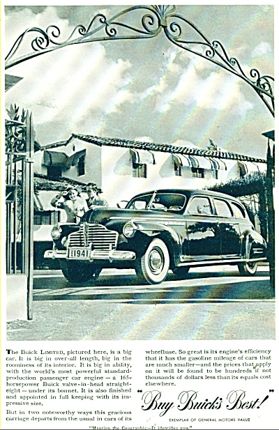 Buick Automobile for 1941 ad (Image1)