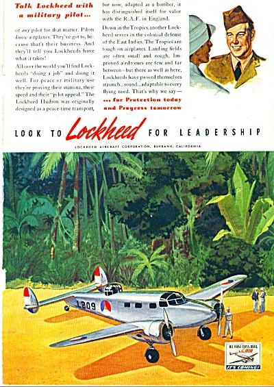 1941 LOCKHEED Aircraft AD Hudson Bomber (Image1)