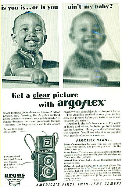 Argoflex camera ad - 1946 (Image1)