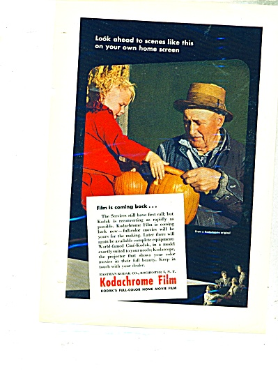 Kodachrome film ad - 1945 (Image1)