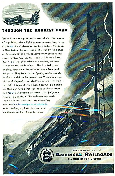 1944 Association of American railroads ad (Image1)