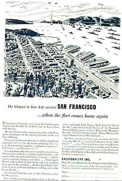1944 Californians California Fleet Comes Home (Image1)