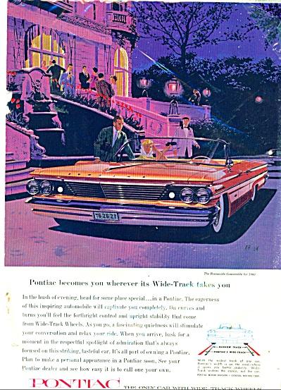 Pontiac automobile for 1960 ad (Image1)