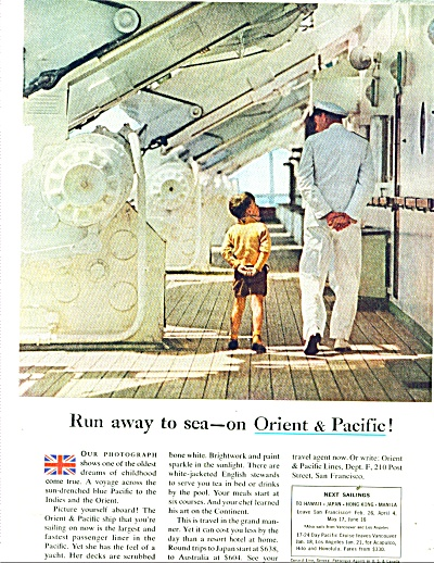 Orient & Pacfic liners ad 1959 (Image1)