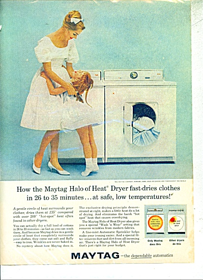 Maytag Washer and Dryer ad (Image1)