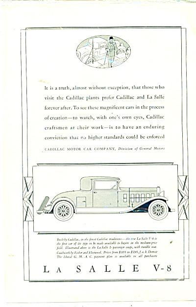 LaSalle V-8 automobile ad 1931 (Image1)