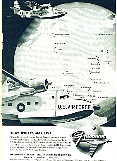 Grumman Aircraft corporation ad 1957 (Image1)