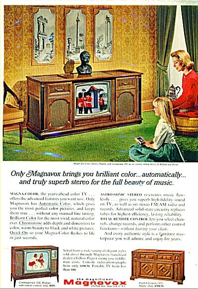 Magnavox television ad - 1966 (Image1)