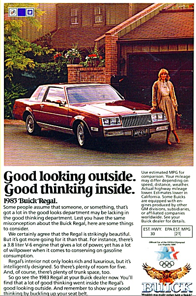 Buick  Regal for 1983 (Image1)