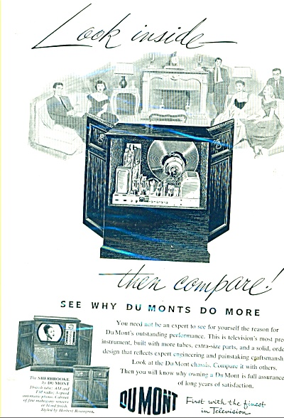 DuMont Television ad - 1952 (Image1)