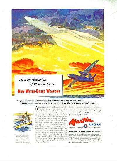 Martin Aircraft ad - 1952 (Image1)