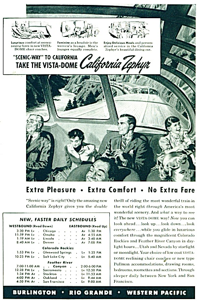 1947 California Zephyr train ad (Image1)