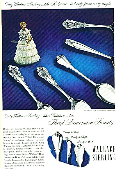 1947 Wallce Sterling SILVER AD Sculpture (Image1)