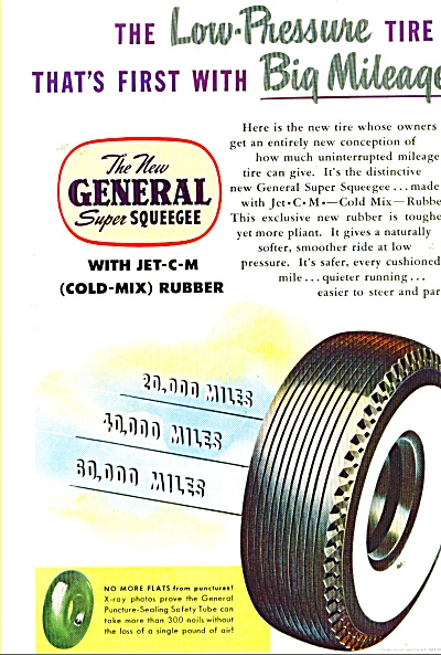 The New General Tire Ad - 1947