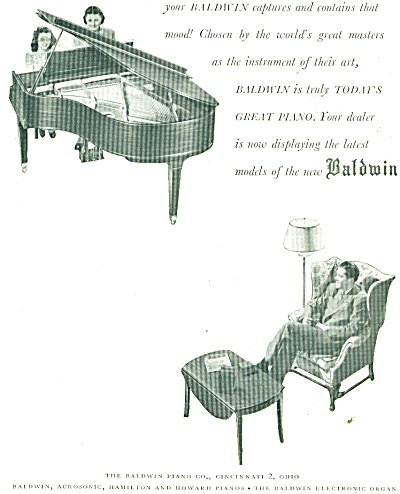 Baldwin piano co. ad - 1947 (Image1)