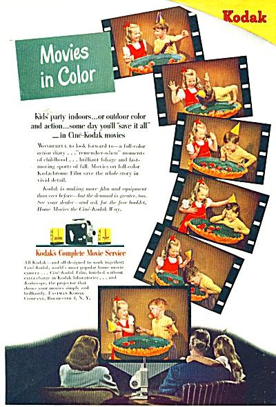 Kodaks movie service ad - 1947 (Image1)