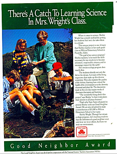 State Farm Insurance ad - 1992 (Image1)
