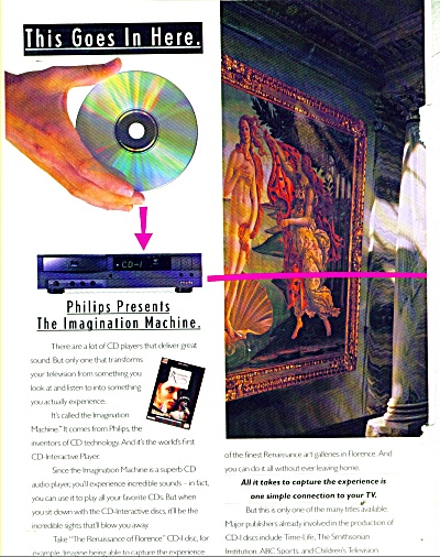 Philips: The Imagination Machine Ad 1992